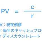 【図解】むずかしい現在価値の計算式と割引率の考え方をわかりやすく解説