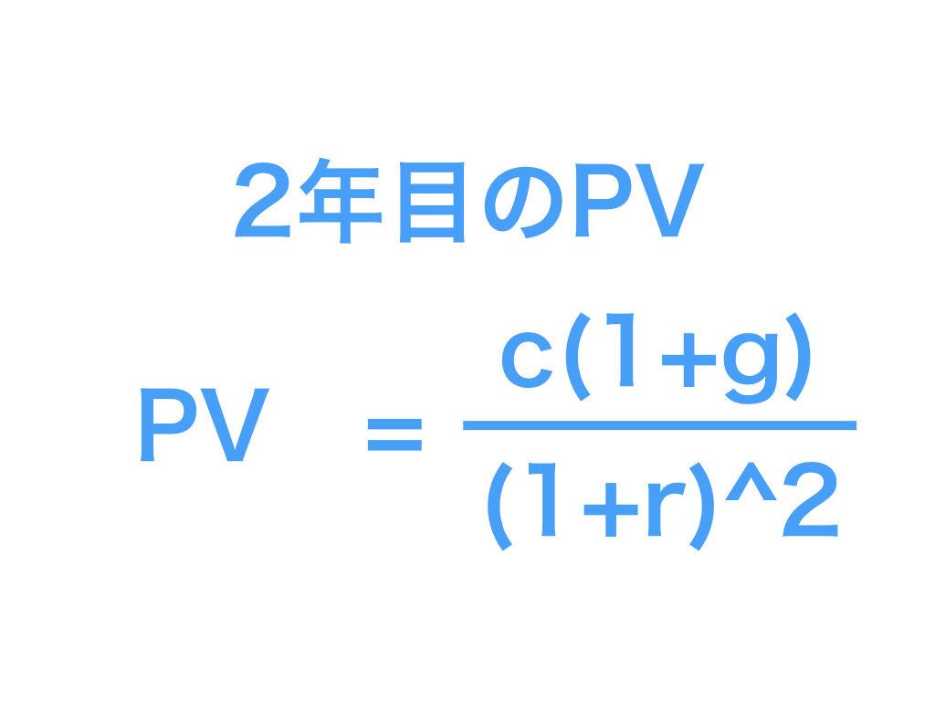 PV(企業価値)3